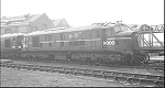 English Electric Co-Co 10000 at Derby 20th March 1965